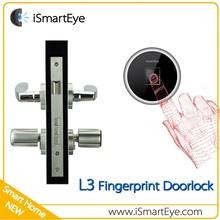 Fingerprint Code Lock Cylinder Door Lock Remote Control For Car Door Lock