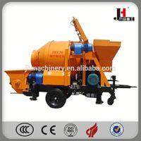 2015 Diesel Trailer Concrete Mixer And Pump