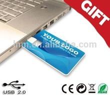 Bulk 1GB 2GB 4GB business card usb flash drive