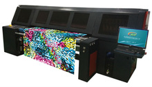16 print heads digital fabric printing machine with belt system
