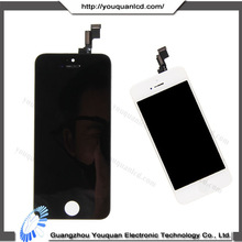 Top quality for iphone 5s lcd screen display jt touch screen digitizer assembly