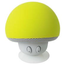 New Products Innovative Design Mushroom Mini Bluetooth Speaker with Sucker