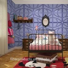deep 3d effect wallpaper vinyl wallpaper fiber wall covering
