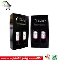 Custom high-end portable wine carrier