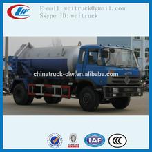 Fábrica de venda dongfeng 10000l vácuo caminhão de sucção de esgoto