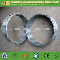 electro galvanized steel Plate crossed concertina Razor Barbed Wire