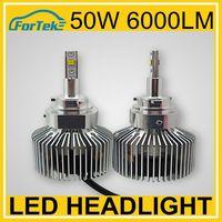 50w led light 6000lm super bright led headlight 9005 phillip chips