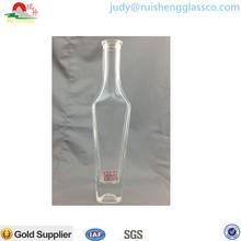 Elegant Glittering Cut Glass Bottle
