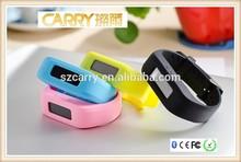 Factory Price of Smart Watch Phone! Fashion Wrist Band 2015 OLED Screen, Bluetooth 4.0 Smart Bracelet
