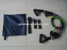 Resistance latex tubing exerciser-multi tubings exerciser