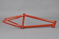 Chromoly4130 Butted cp orange frame tandem bike aluminum frame