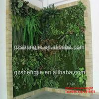 SJH010514 artificial green wall indoor vertical growing wall vertical green wall