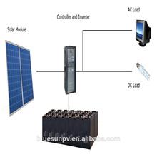 BLUESUN professional solar company supply easy install easy handling 1kw system off-grid solar