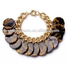 2015 Fashionable women gold plated bracelet,leopard bracelet&bangles