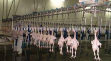 Los mataderos de pollo/de plumas de pollo de eliminación/pollo sacrificio equipos de la línea
