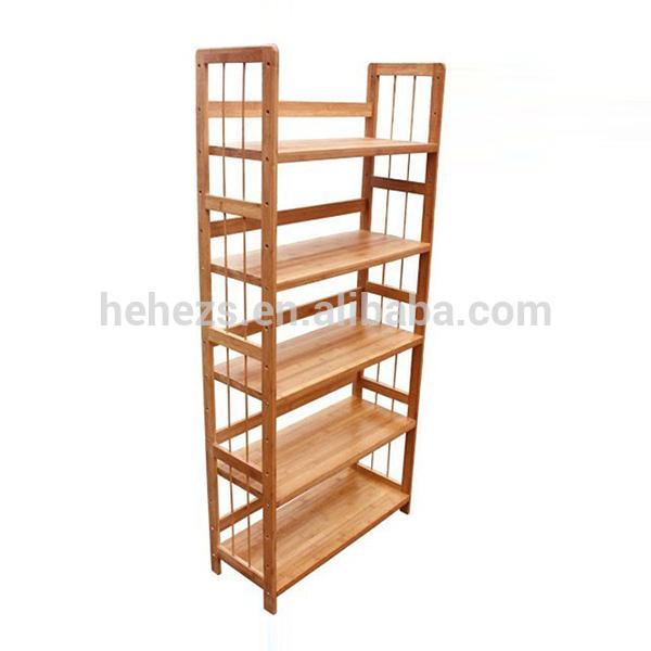 wholesale wooden handicraft furniture bookshelf in china