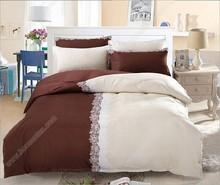 Alibaba China wholesale polyester flannel home sense printed 3 / 4 pcs bedding sets