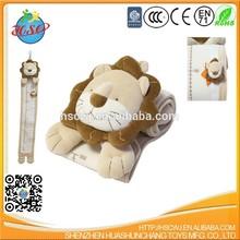 hot sale lion plush super soft growth chart