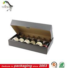 6 bottle wine cardboard bottle carrier