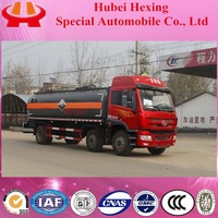 Low price FAW 17m3 6*2 new chemical tanker truck
