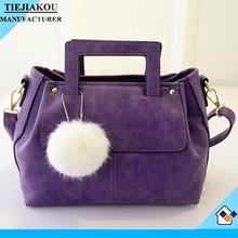 fashion designer handbags nubuck leather ladies bag