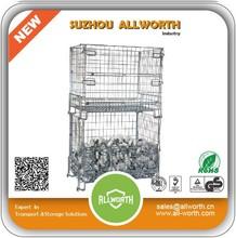 Cheap Lockable wire mesh heavy duty storage bins