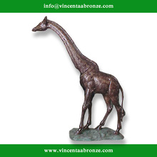 Hot sale China brand wholesale bronze giraffe home decor
