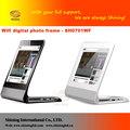 sapato para distribuidores varejistas simples função de 7 polegadas acrílico digital picture frame