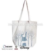 2015 Cheap Custom Printed Canvas Tote Bag/Heavy Canvas Tote Bag/Plain White Cotton Canvas Tote Bag