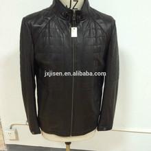 Men Leather Jacket / Sheepskin Leather Jacket / genuine sheep leather jacket for men