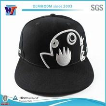 Cotton White Bird Black Baby Hat Snapback Cap For Sale