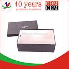 black paper shoe storage box