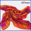 HZW-13503002 High quality fashion silk scarf wholesale china Section dyeingsilk turkish pashmina shawl