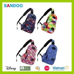 Colorful waterproof women sling bag, men sling bag made in China