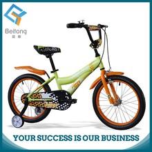 18 inch light yellow girl child bike