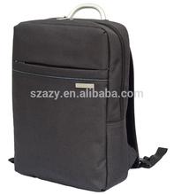 OEM Metal Logo Multi Function Men Backpack