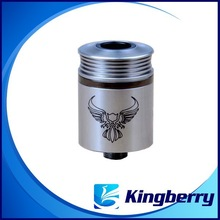 Popular healthy products e cigarette RDA clone Patriot atomzier v2 1: 1clone from kingberry