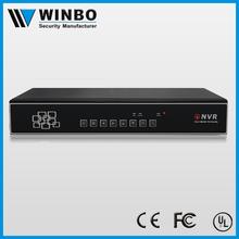 Multi-way Synchronization Power over ethernet Cctv Nvr Poe Support HDDs Management