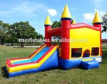 2015 new Inflatable 4in1 Jumbo Combo/slide/bounce house/castle