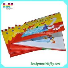 eco-friendly children sound book printing cardboard book printing