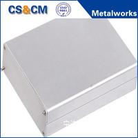 OEM cutom waterproof aluminum extrusion /die cast enclosure