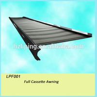 Metal roof awning