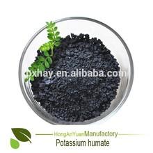 alta solubilidad de ácido húmico humatos de potasio fertilizante orgánico
