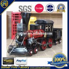 Custom metal train for children