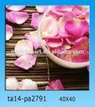 3d flor decoración de pintura al óleo de la imagen