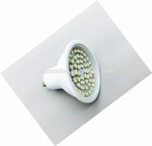 cheap led light ! led gu10 spotlight 60 smd CE,Rohs led light/ hot sale led with ce rohs/led lights for motorcycles