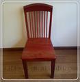 2015 nuevo estilo chino de madera maciza silla de comedor