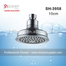 Yuyao Manufacturer Leelongs ABS Chrome Round 10cm Adjustable Shower Head