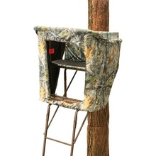 TS051 2-man Ladder Camo Summit Tree Stand For Hunting