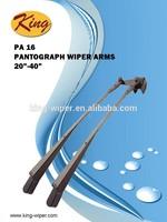 PA 16 Double bus wiper arm, Pantograph wiper arm, windshield wiper arm